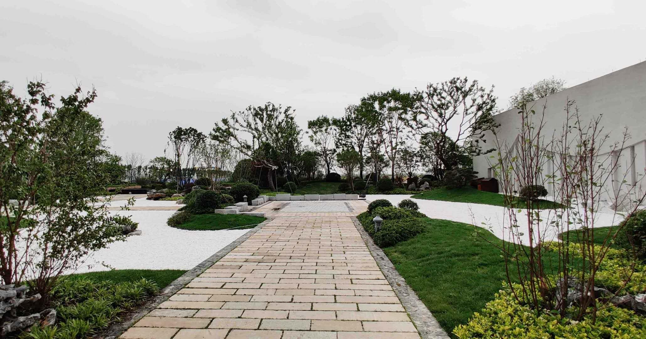 仙桃市沔阳小镇文化旅游项目首开区beplay下载官网绿化工程
